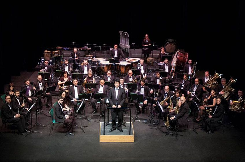 Banda Municipal de Música de Barakaldo<br>&#8220;La voz&#8221;