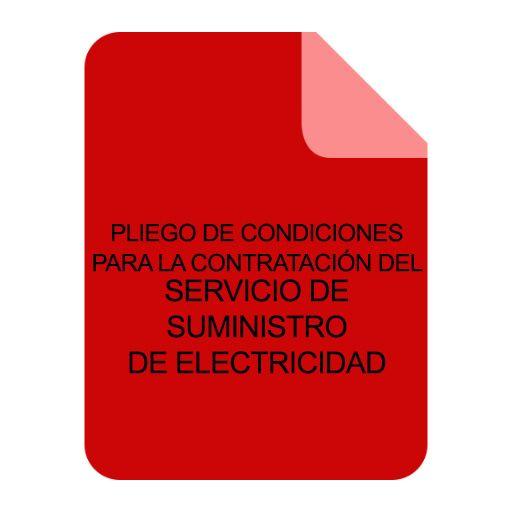 SUMINISTRO ELECTRICIDAD