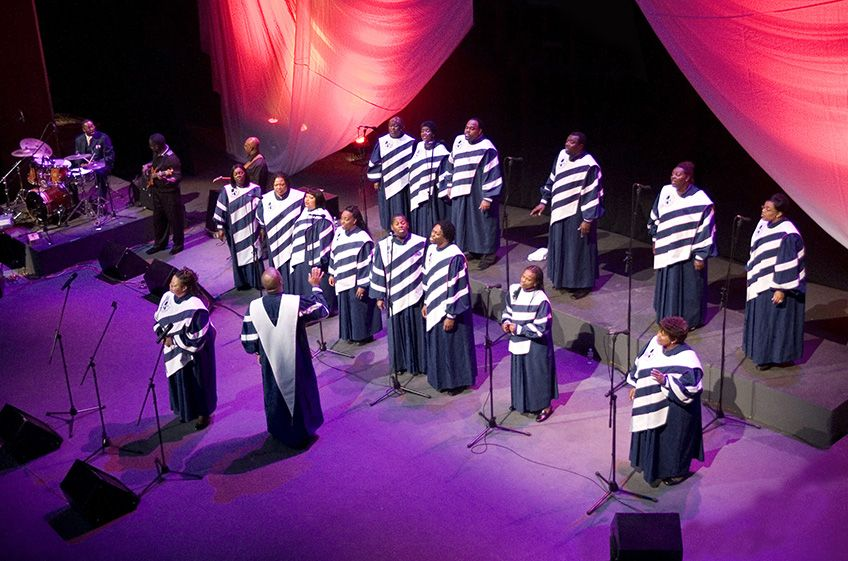 """Mississippi Mass Choir<br>""""The golden years of gospel"""""""