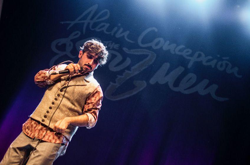 """Alain Concepción &<br>The Soul Men<br>""""Life Songs"""""""