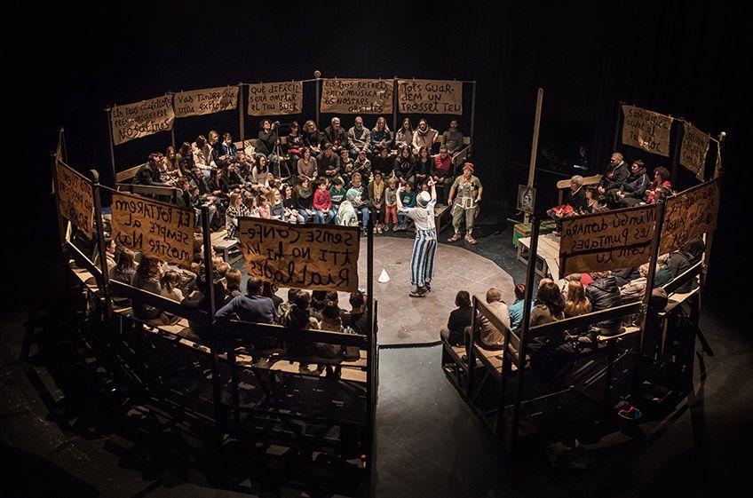 """Bye  Bye,  Confetti""<br>La  Baldufa  Teatre"