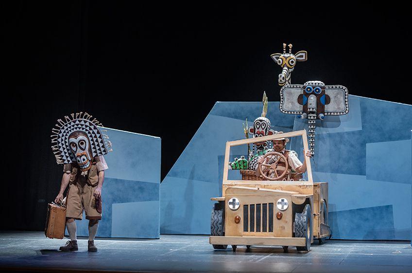 """""""Safari""""<br>Portal 71 & La Baldufa Teatre"""