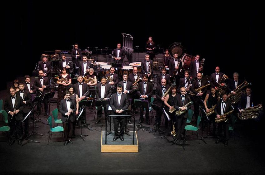 """Neotango  Concerto""<br>Barakaldoko  Udal  Musika  Banda"