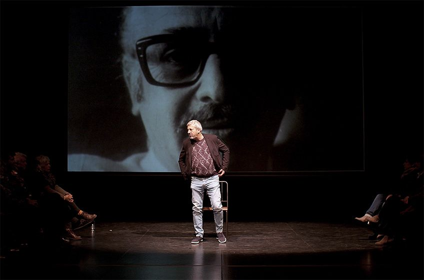 """Celebraré mi muerte""<br>Teatro del Barrio"