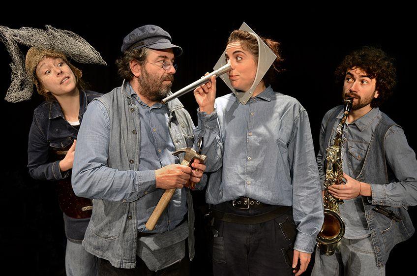 """Pinocchio""<br>Teatro Gorakada"